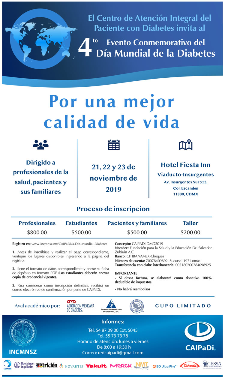 información sobre diabetes para estudiantes